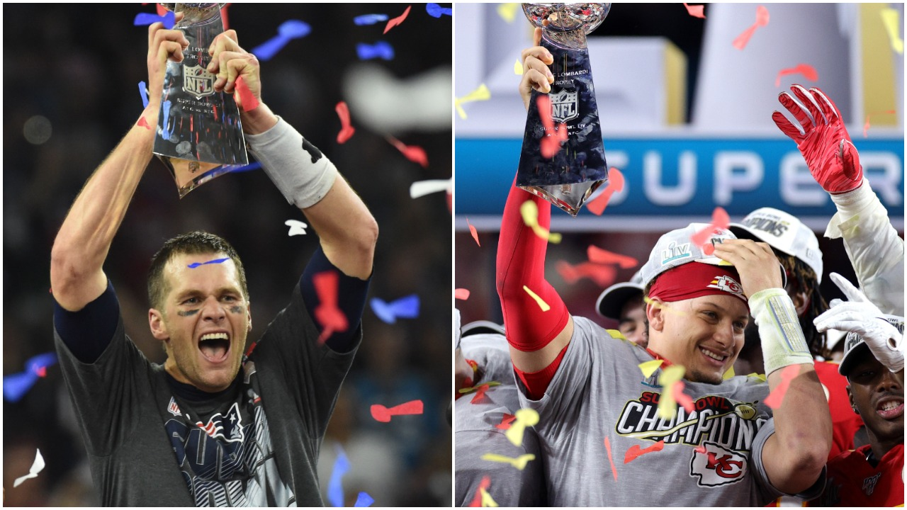 Tom Brady Patrick Mahomes Super Bowl
