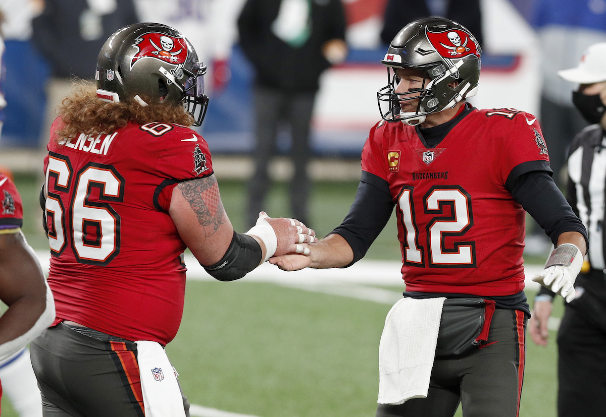 Tom Brady gave Bucs' center Ryan Jenses two specific suggestions when he joined the team. Jensen accepting those suggestions have paid off.