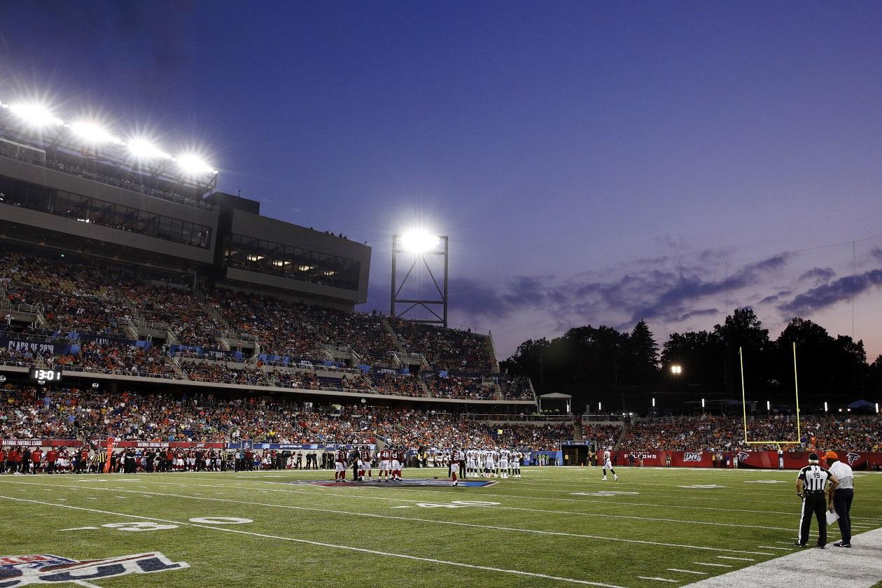 Tom Benson Stadium in Canton, OH