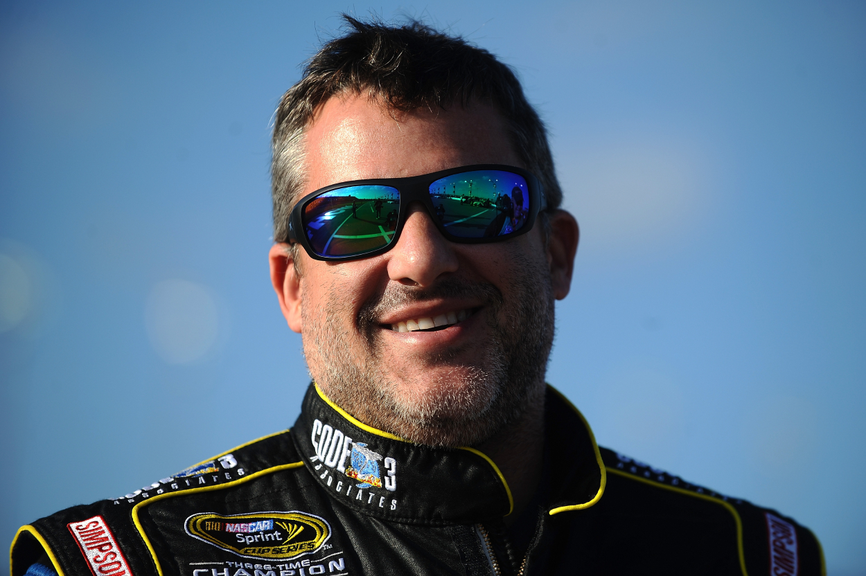 Former NASCAR driver Tony Stewart, who has had successful racing careers as a driver and team owner.