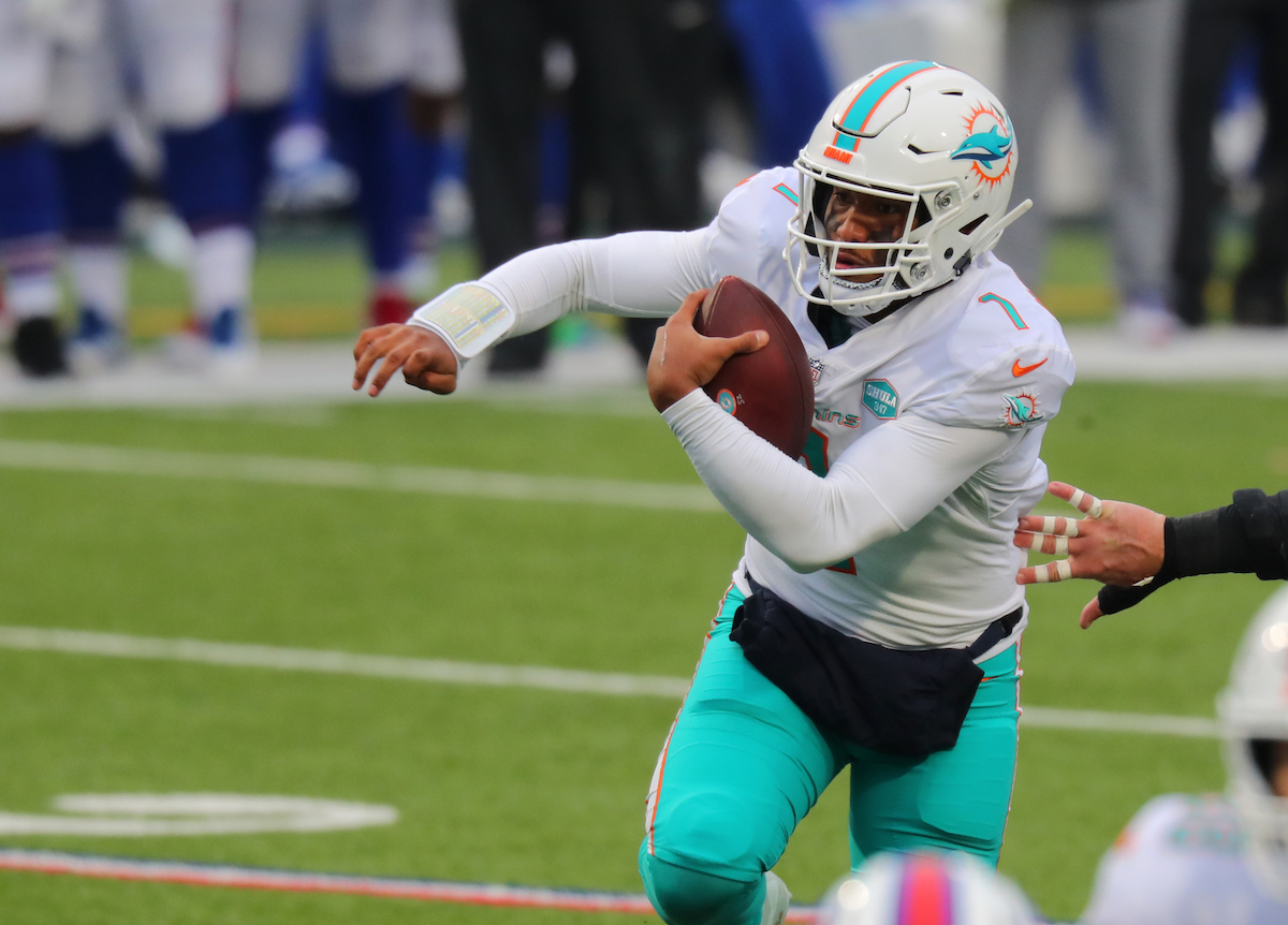 Tua Tagovailoa already has questions surrounding his future with the Miami Dolphins. He is ready to prove to the team he is their franchise quarterback.