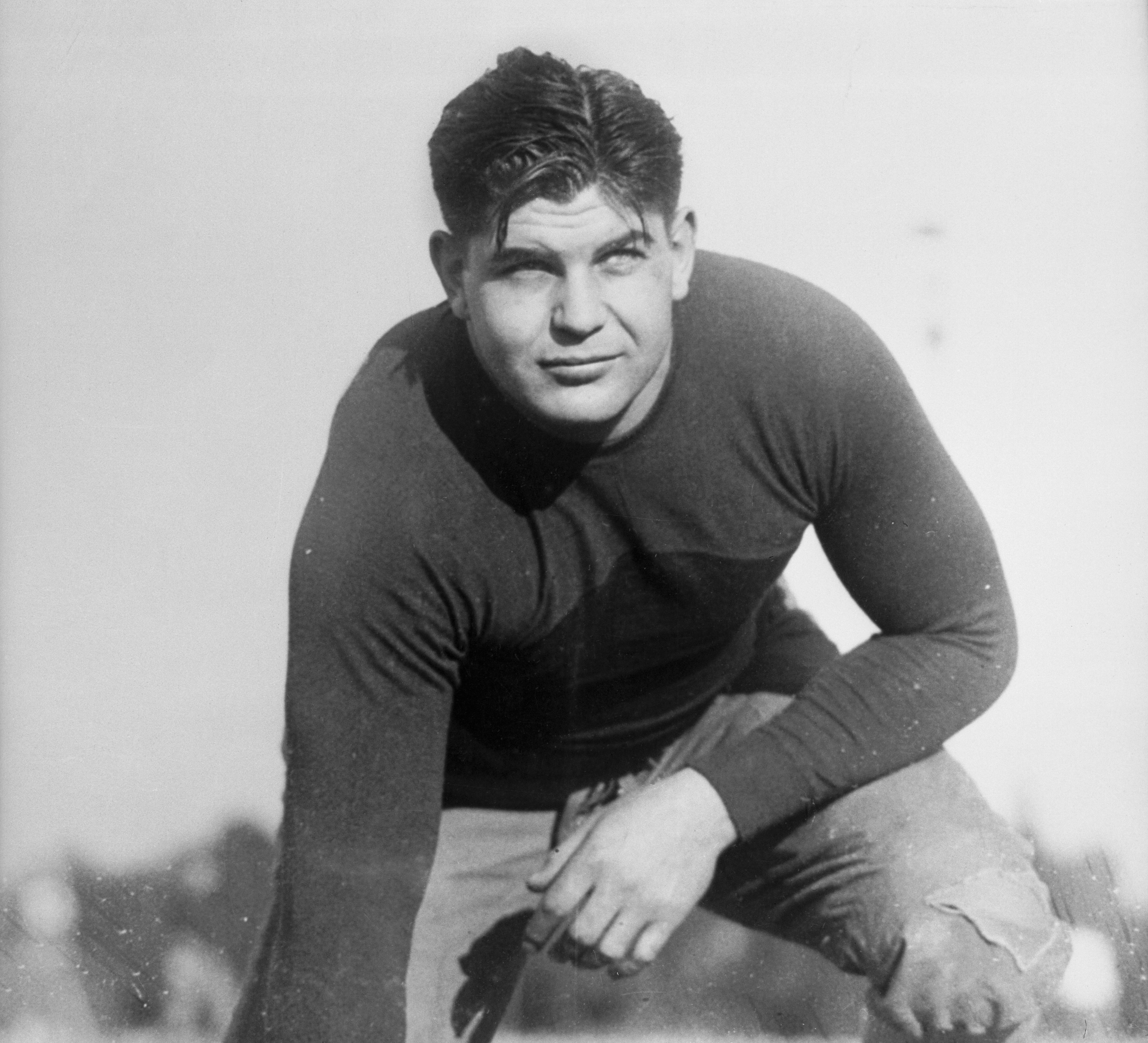 Tackle Turk Edwards in 1930