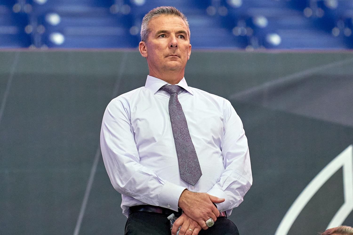 Urban Meyer was named coach of the NFL's Jacksonville Jaguars om Jan. 14, 2021