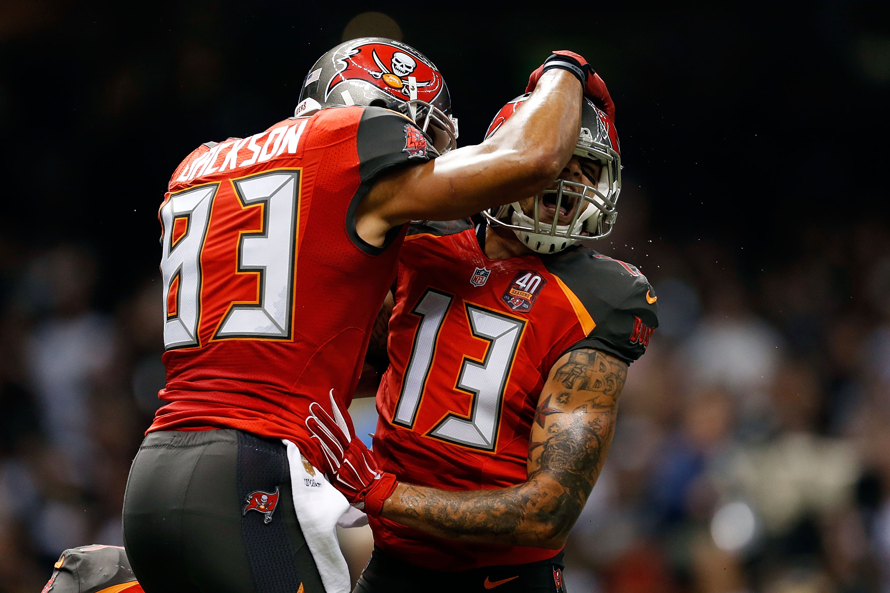 Vincent Jackson was a mentor to Mike Evans.