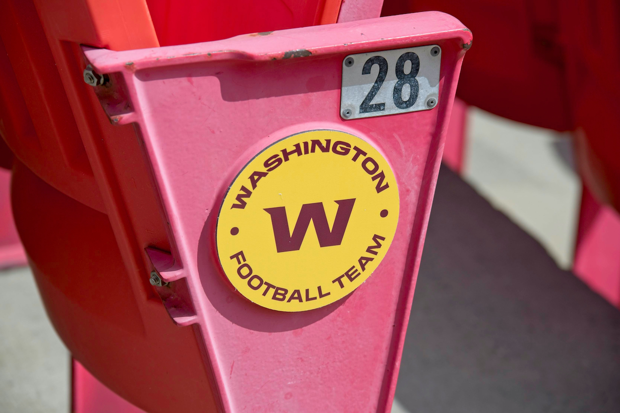 Washington Football Team bleachers