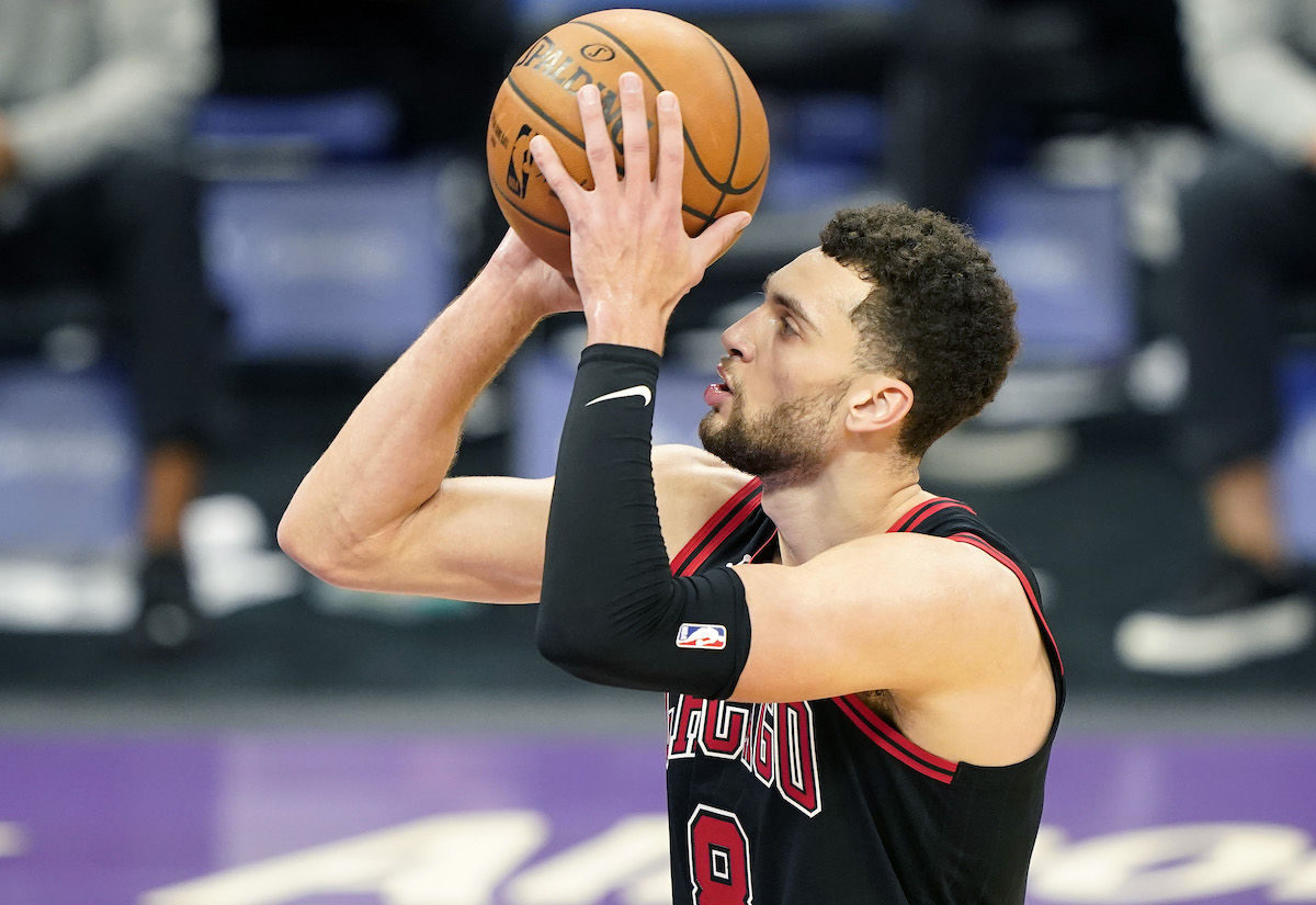 Chicago Bulls star Zach LaVine has had to work hard to achieve his NBA Dreams. His dreams were almost crushed by his elementary school teacher until his father stepped in.