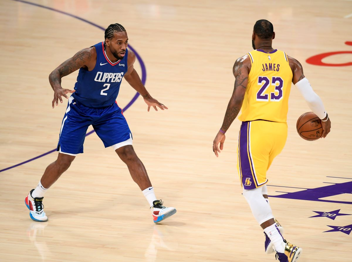 LeBron James, Kawhi Leonard, Lakers, Clippers, Kendrick Perkins