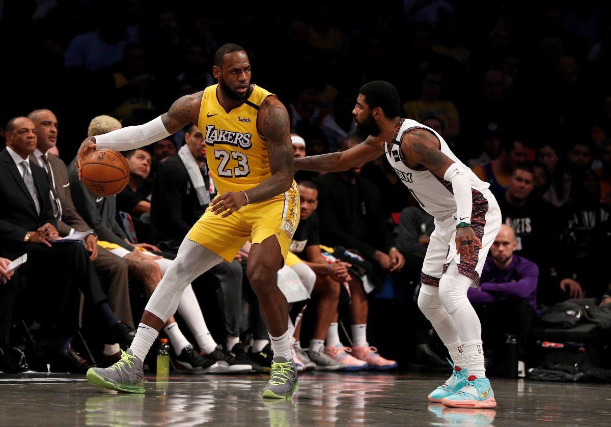 LeBron James, Kyrie Irving, Lakers, Nets, NBA