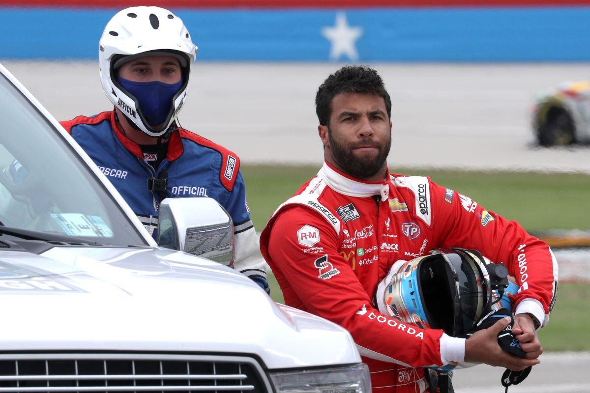 NASCAR Star Bubba Wallace Reveals How He's 'Changing the Game' With the Help of Michael Jordan and Pitbull