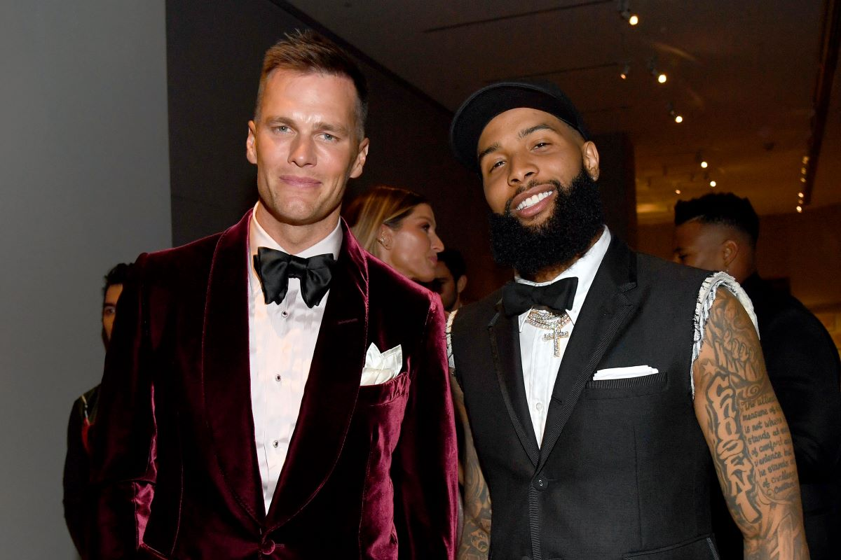 Odell Beckham Jr., Tom Brady, NFL, Buccaneers, Mike Tannenbaum