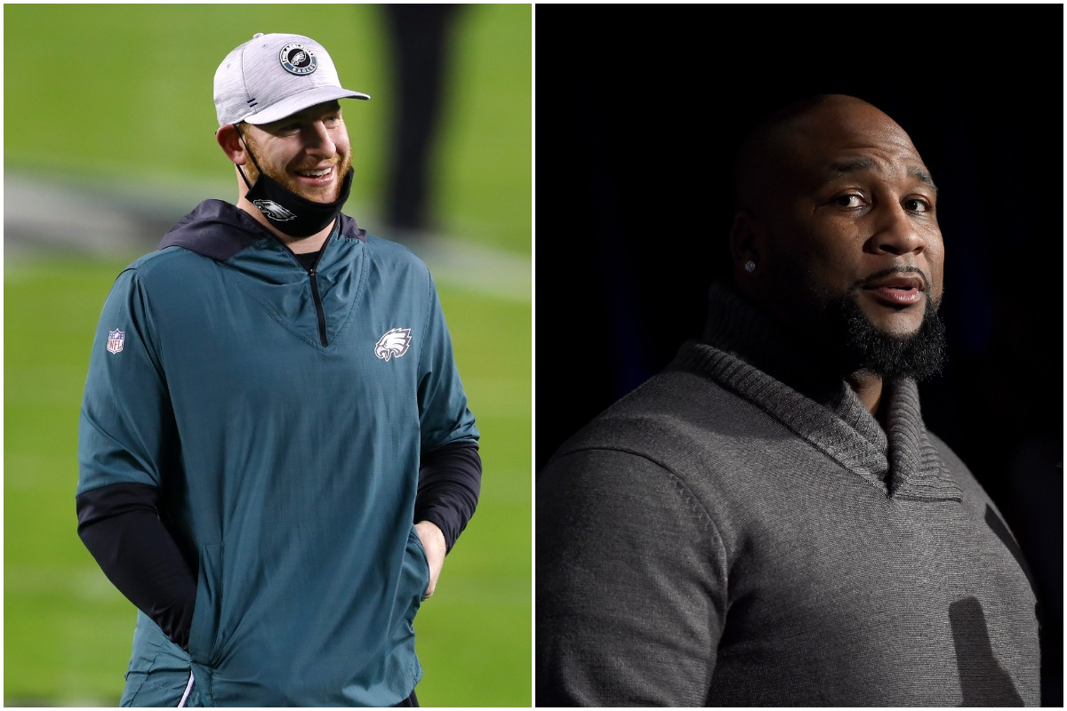 Carson Wentz, Marcus Spears, Colts, NFL, Aaron Rodgers