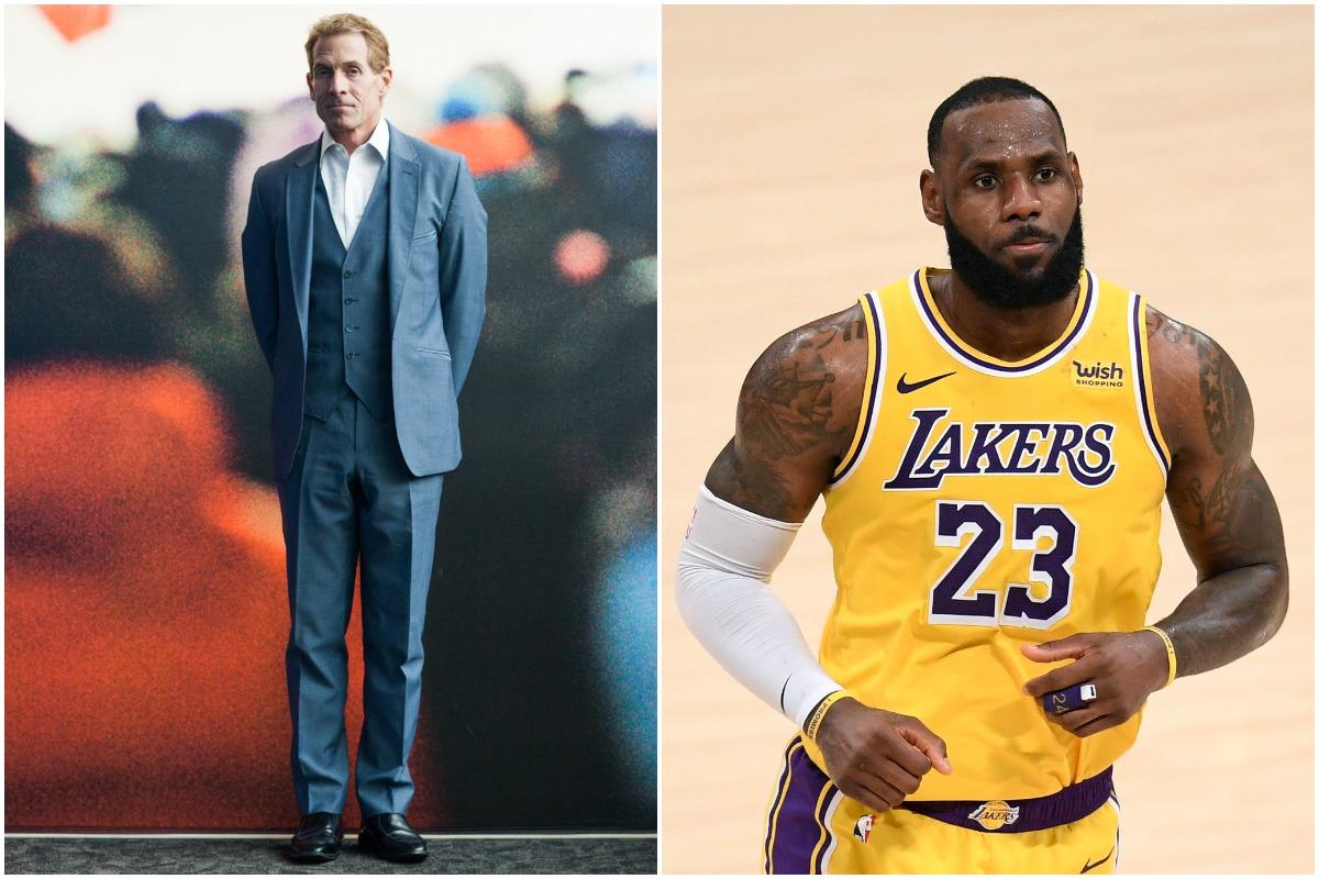 LeBron James, Lakers, Skip Bayless, NBA