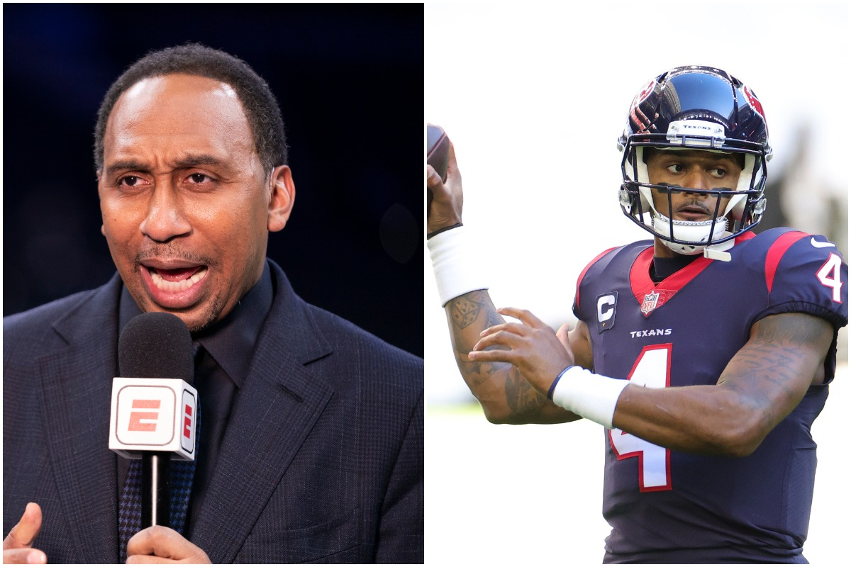 Stephen A. Smith Goes off on Deshaun Watson's Critics After J.J. Watt Is Granted His Release From the Texans