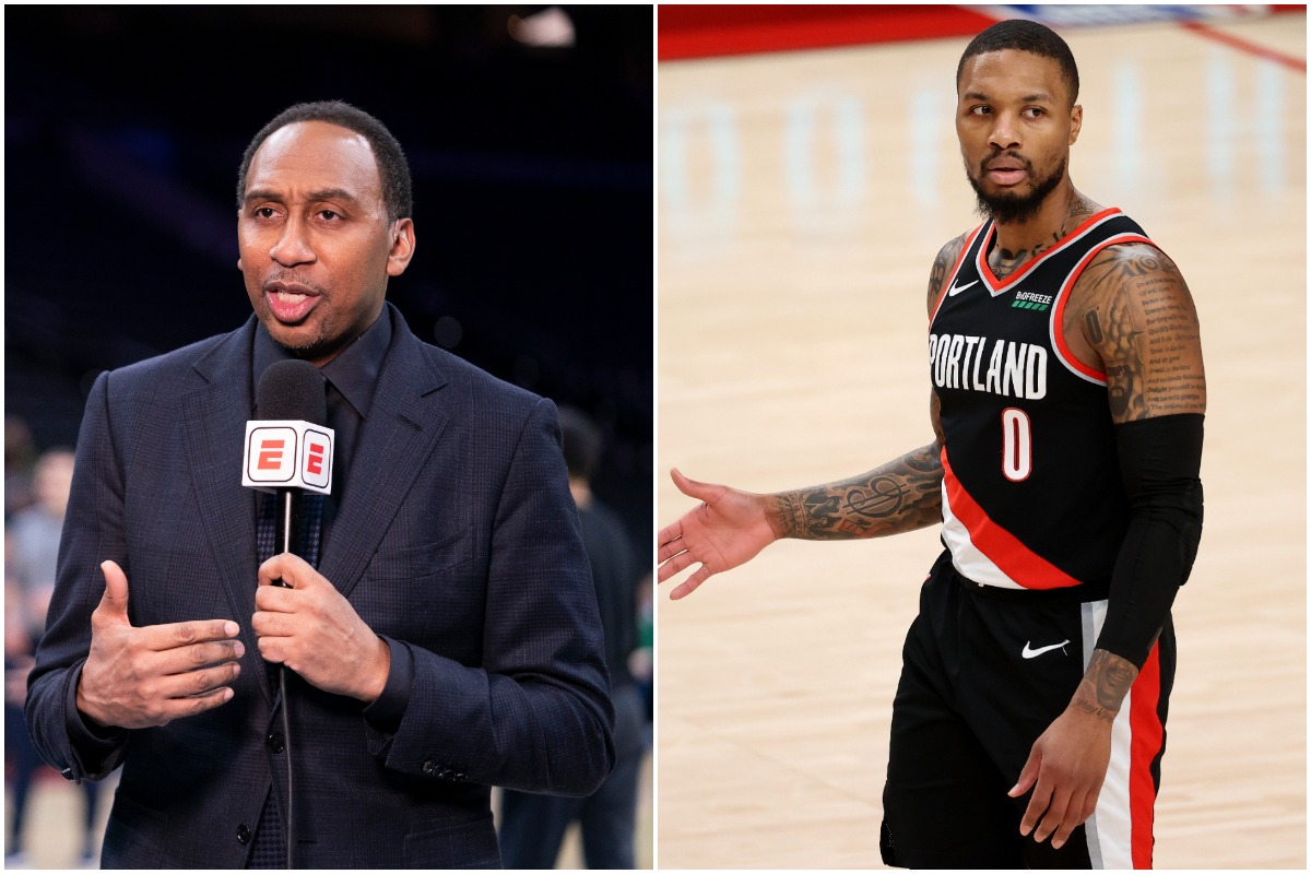 Damian Lillard Gets a Passionate Apology From ESPN's Stephen A. Smith: 'I Apologize, It's My Fault'