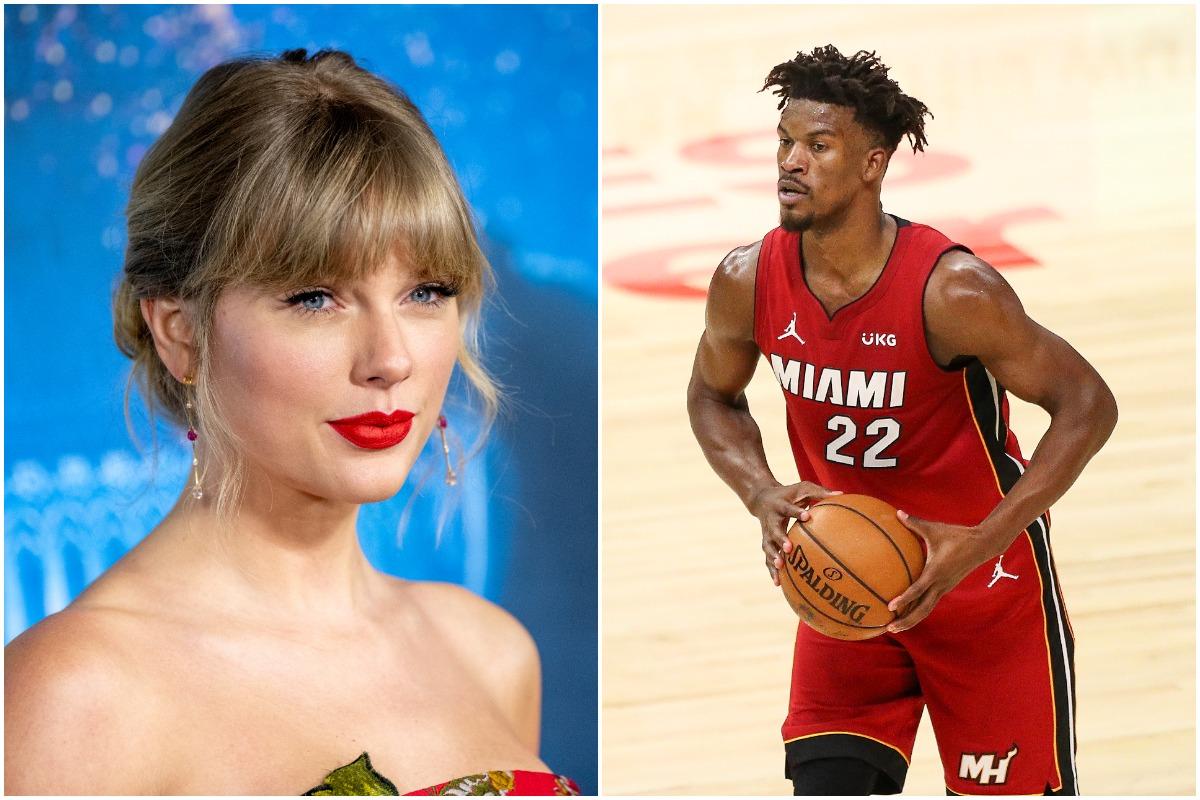 Jimmy Butler, Taylor Swift, NBA, Heat
