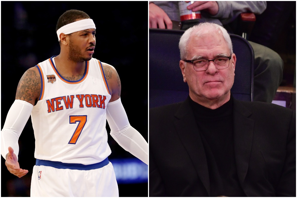 Carmelo Anthony, Phil Jackson, Knicks