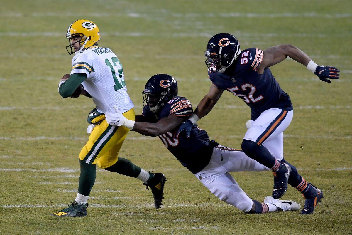 Aaron Rodgers, Deshaun Watson, NFL, Packers, Bears