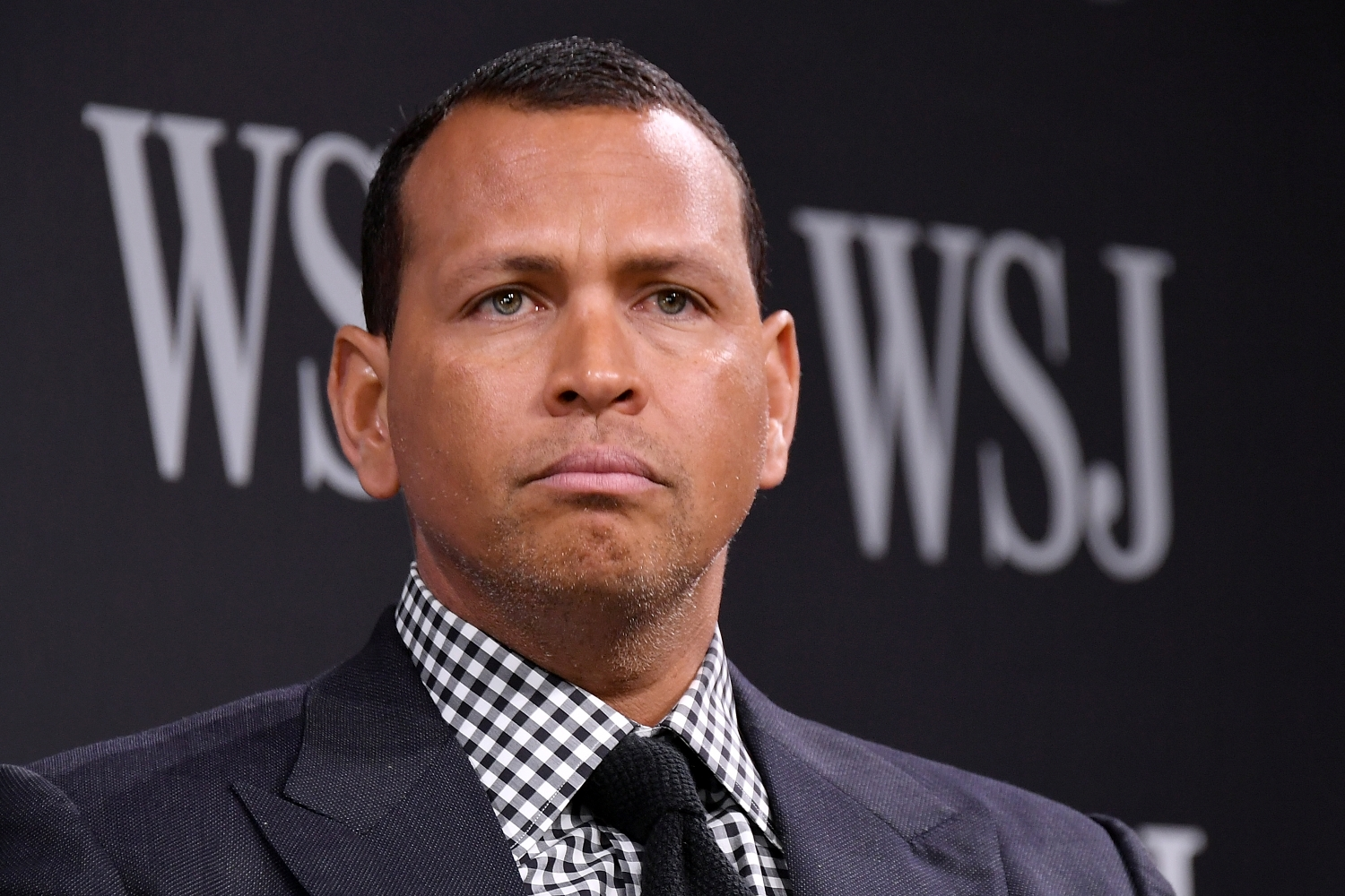 Sports commentator and former professional baseball player Alex Rodriguez takes part in a panel during WSJ's The Future of Everything Festival at Spring Studios on May 8, 2018.