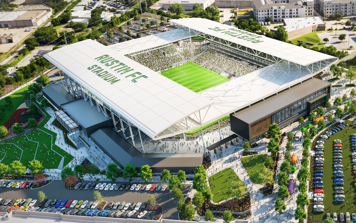 Austin FC Announces First Match Dates in Franchise History Including Season Opener on Road Against LAFC Before National Television Audience