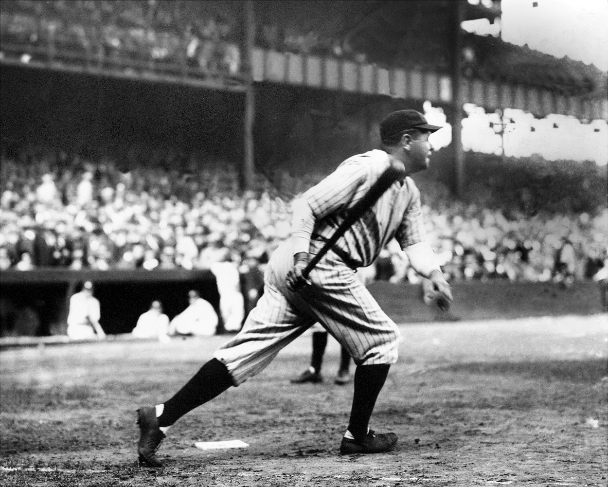Babe Ruth Actually Hit 715 Home Runs During His MLB Career and Was Given Credit for That Number for About a Week
