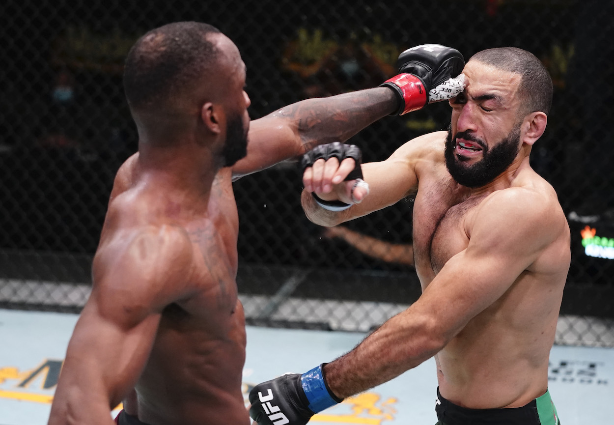 UFC Fight Night featured Leon Edwards and Belal Muhammad