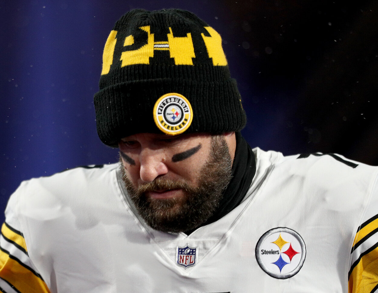 Ben Roethlisberger Just Received Bad News About His 2021 Plans From the Steelers' Official Website