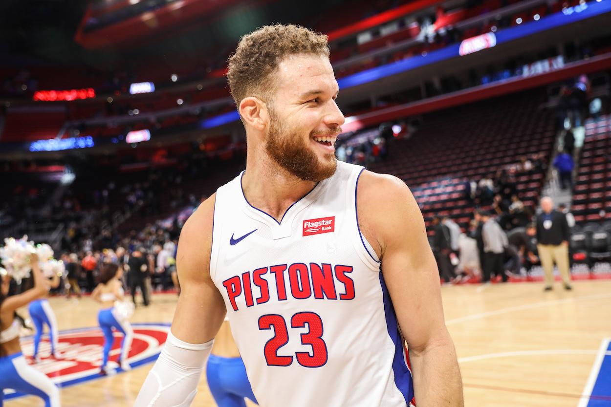 Detroit Pistons forward Blake Griffin