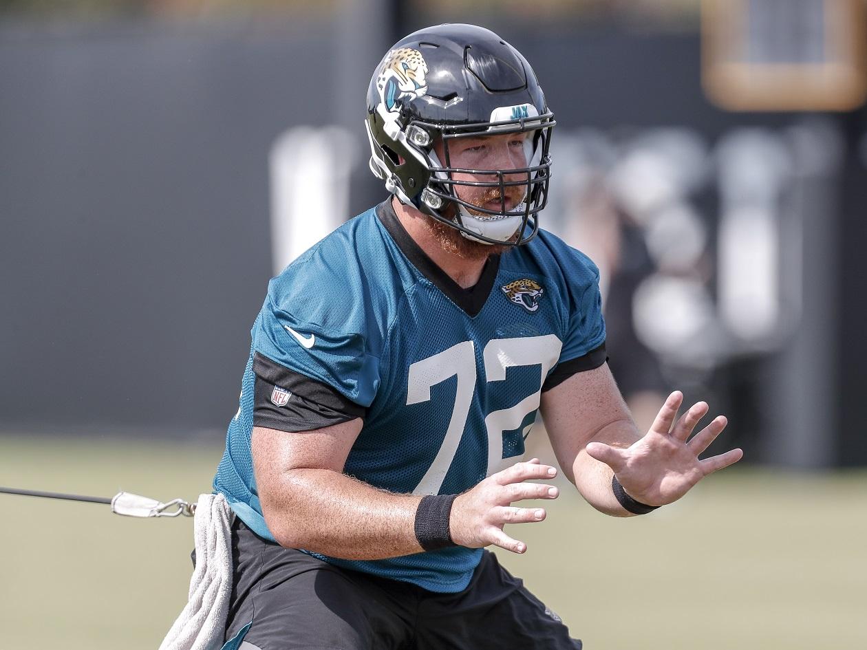 Blake Hance on the Jacksonville Jaguars practice squad