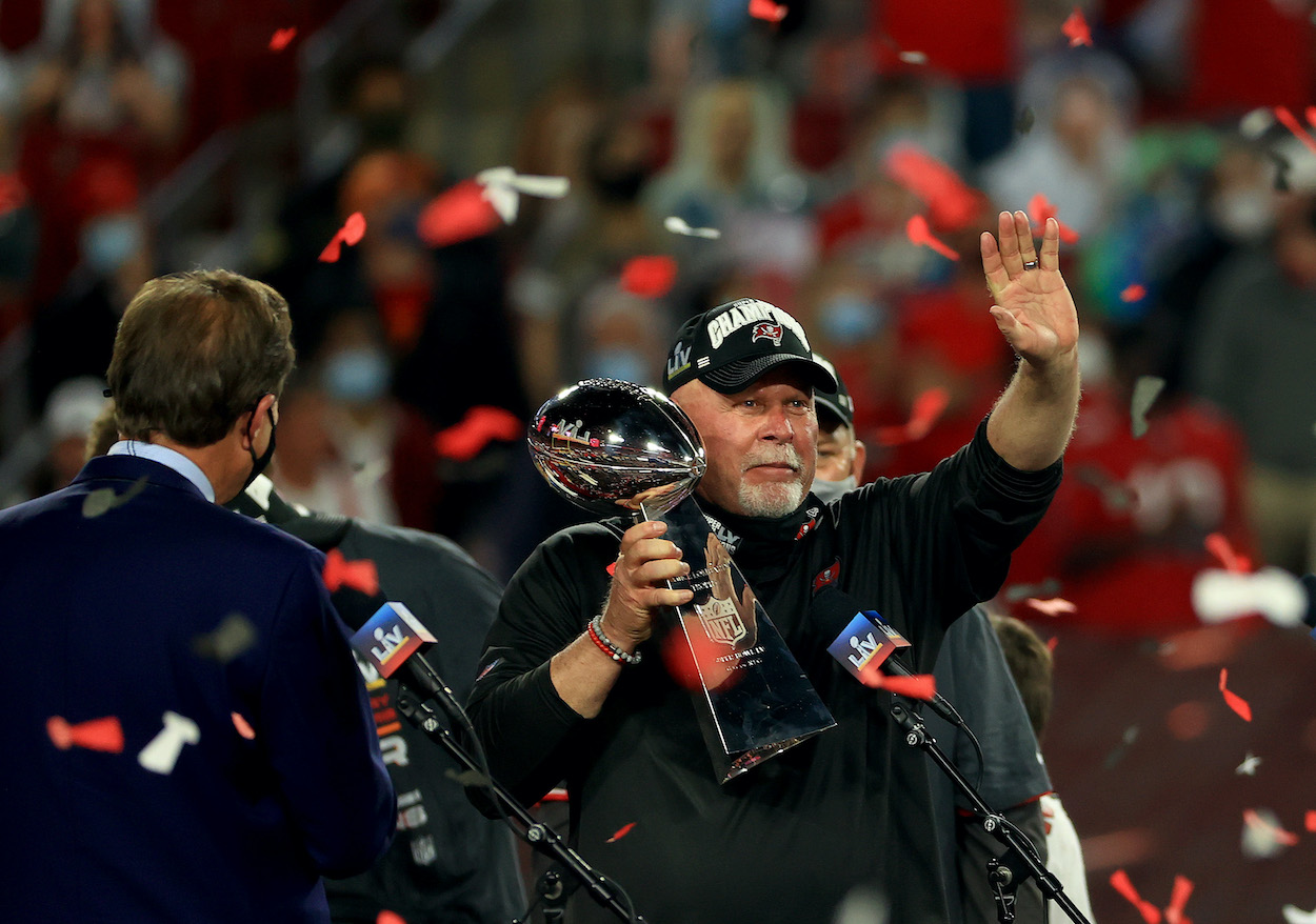Bruce Arians Fulfills a Painful Promise He Made to the Tampa Bay Buccaneers if They Won the Super Bowl