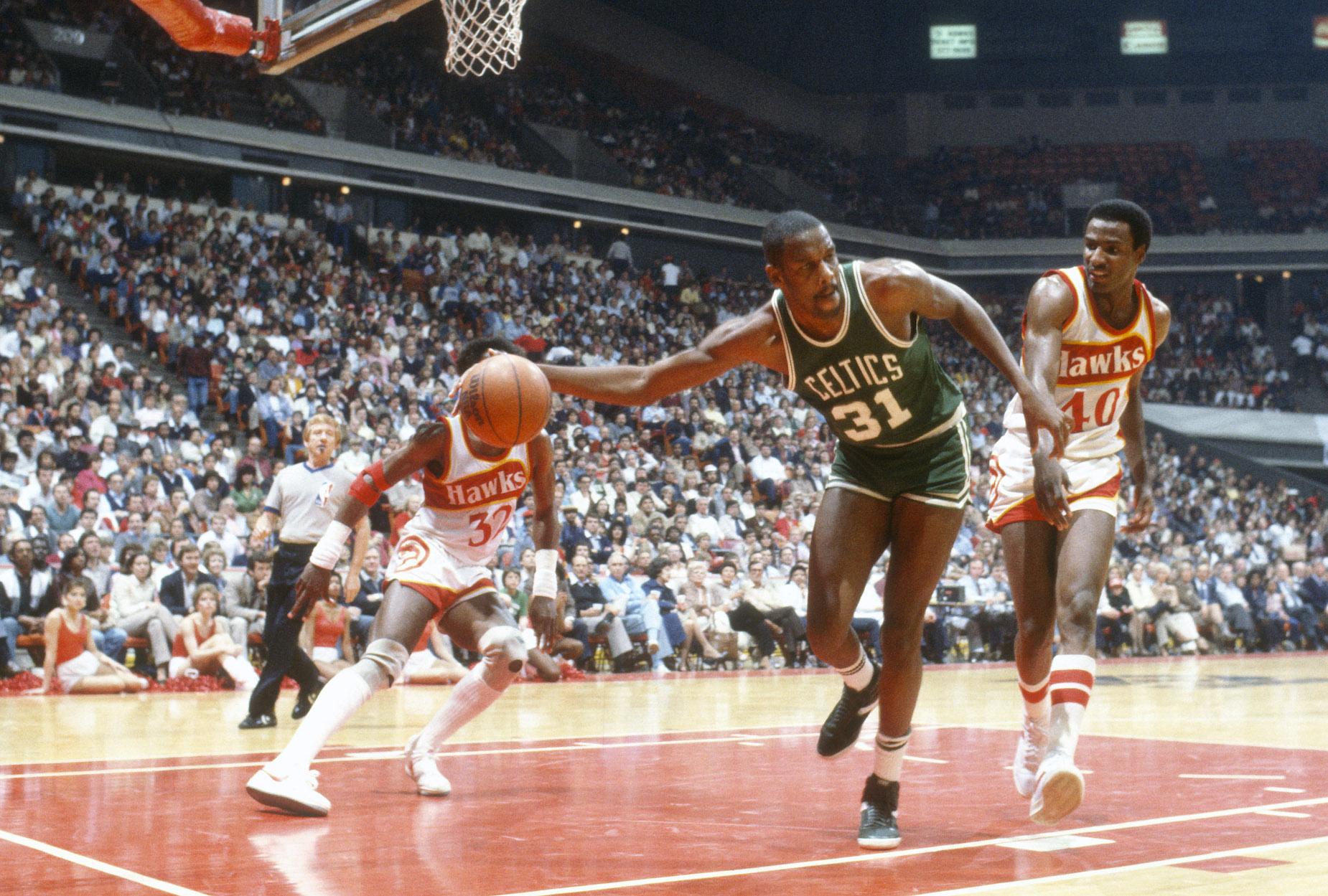 Boston Celtics forward Cedric Maxwell