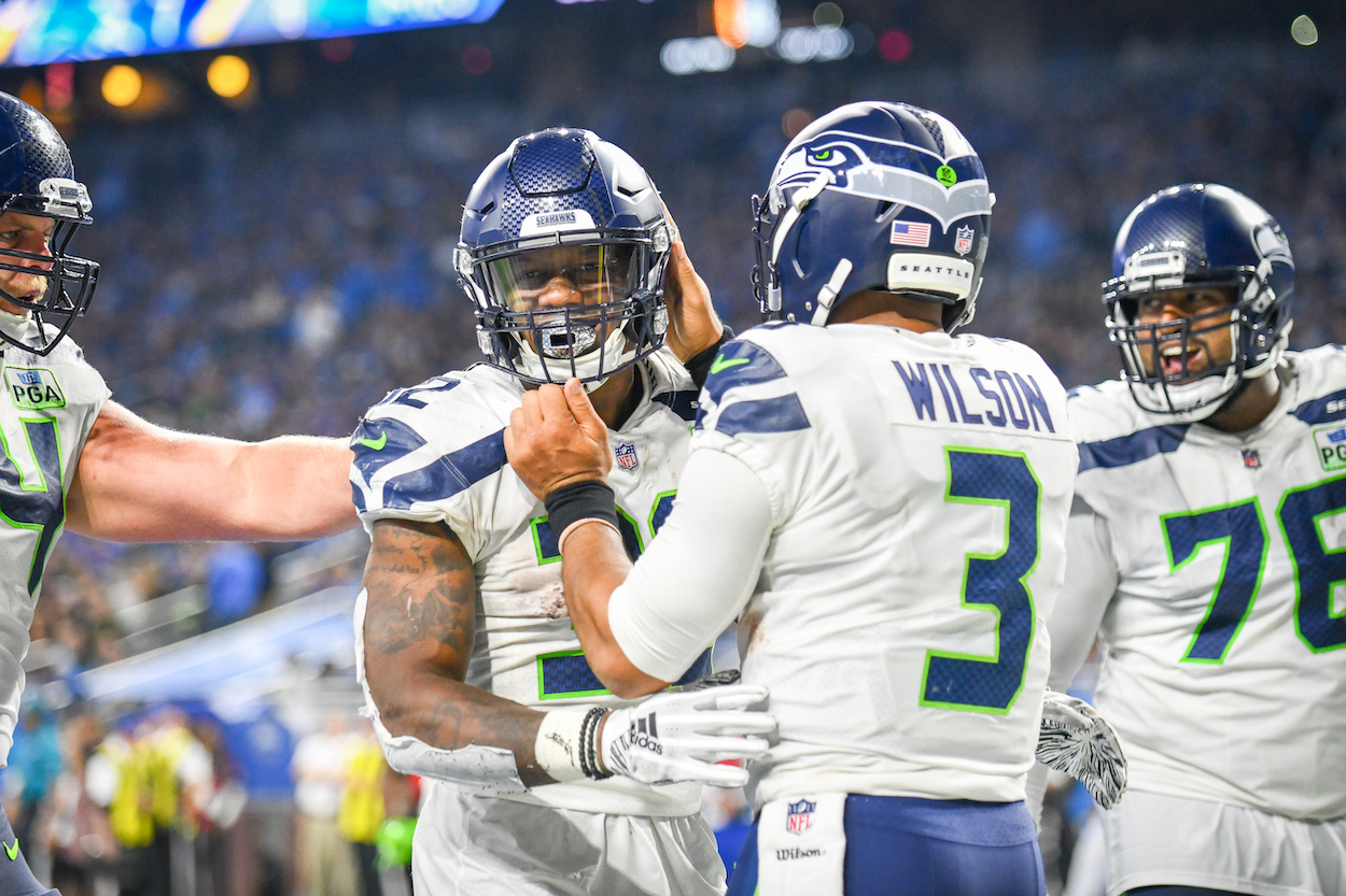 The Seattle Seahawks Just Gave Russell Wilson a Slap in the Face by Stripping Him of His Most Trusted Backfield Weapon