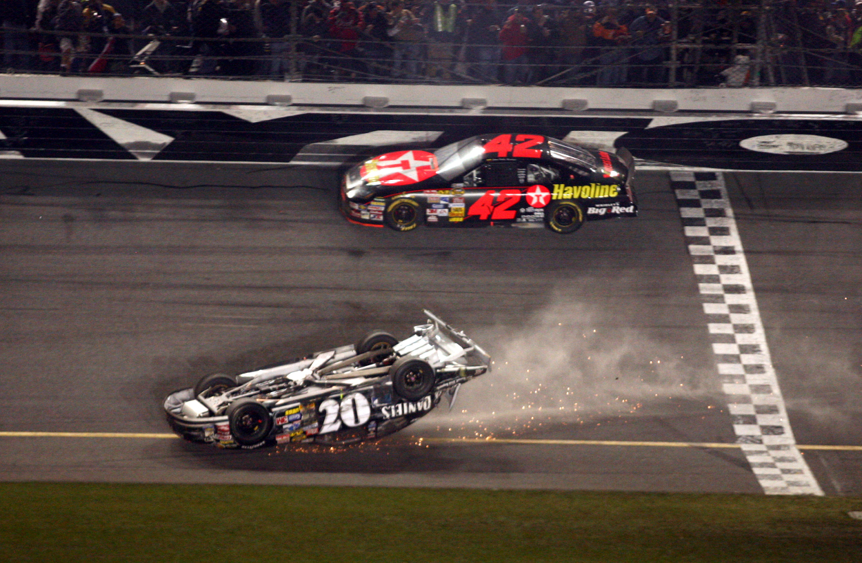 Clint Bowyer had quite the finish in the 2007 Daytona 500.