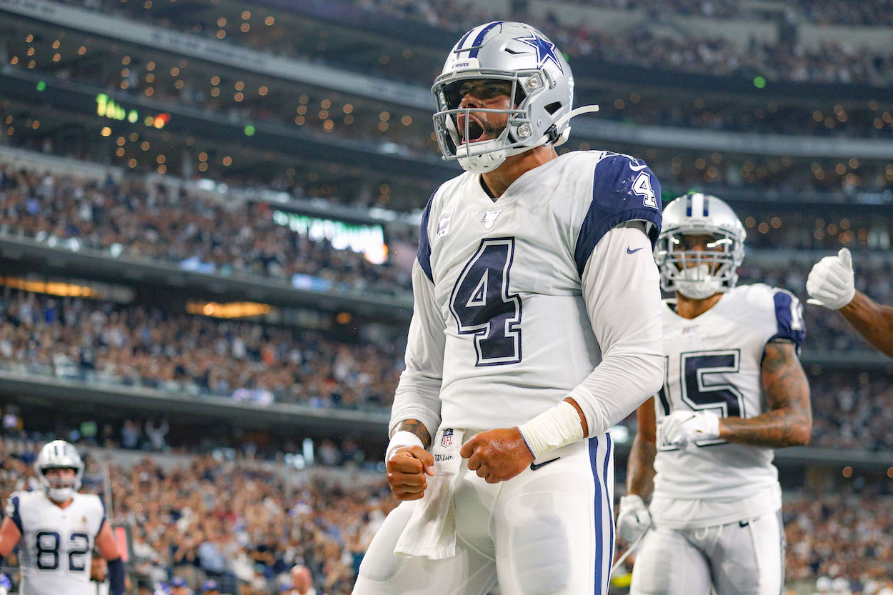 Dak Prescott Can Finally Focus on His Ultimate Goal With the Cowboys After Lifting a $160 Million Weight Off His Shoulders