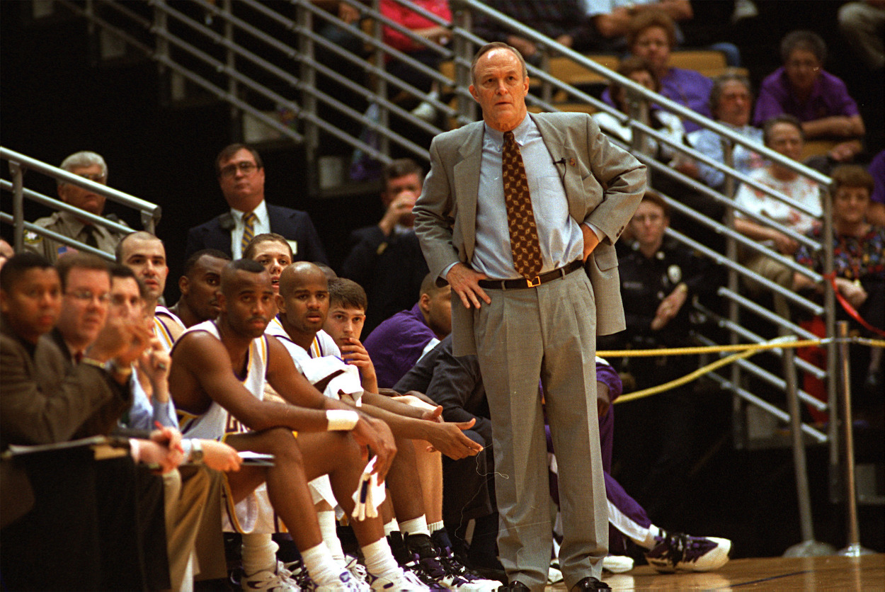 Legendary LSU Coach Dale Brown Once Referred to NCAA as 'Gestapo Bastards' and Still Has Choice Words for the Organization Today