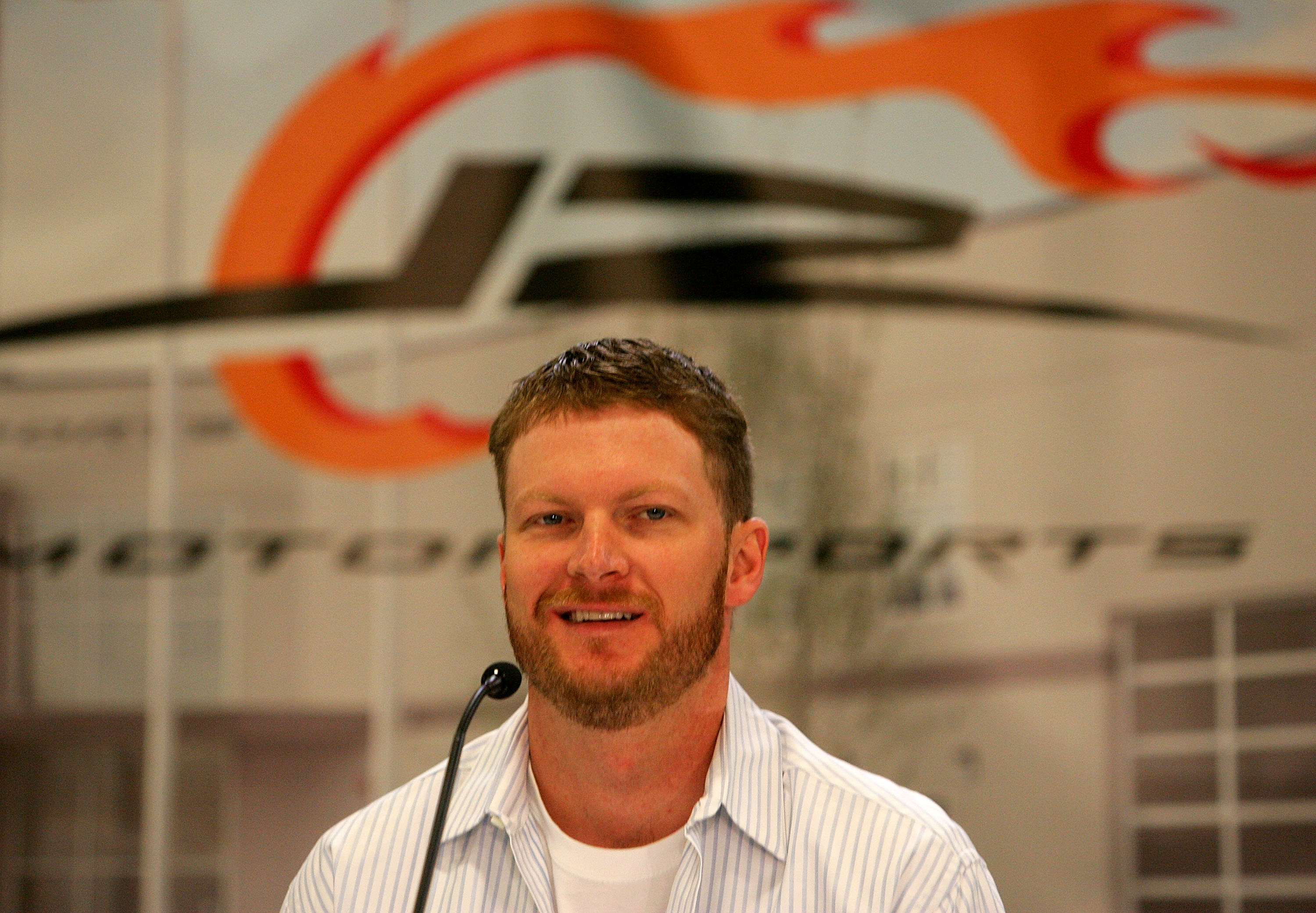 Dale Earnhardt Jr. remembers when he realized his father was on his side.