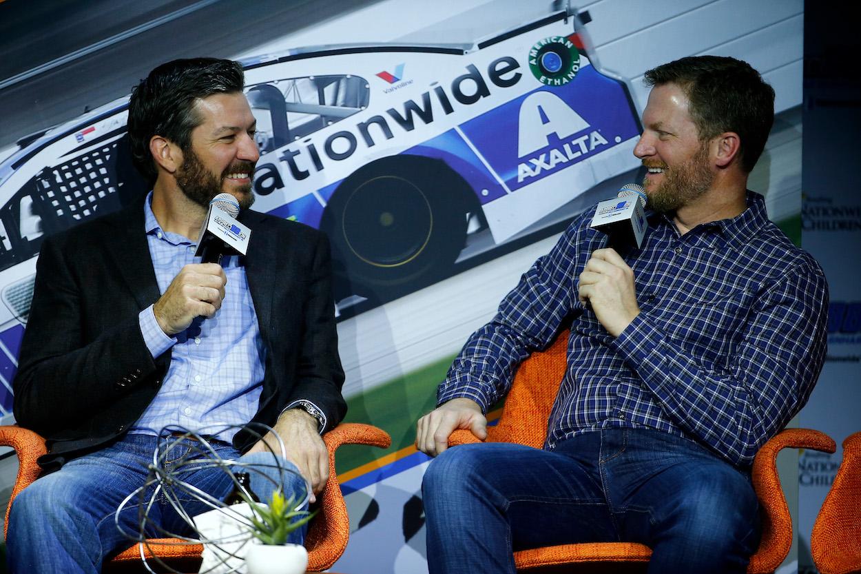 Dale Earnhardt Jr and Martin Truex Jr