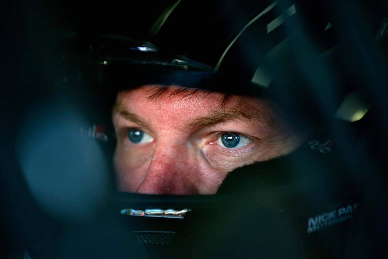 NASCAR driver Dale Earnhardt Jr. in 2017