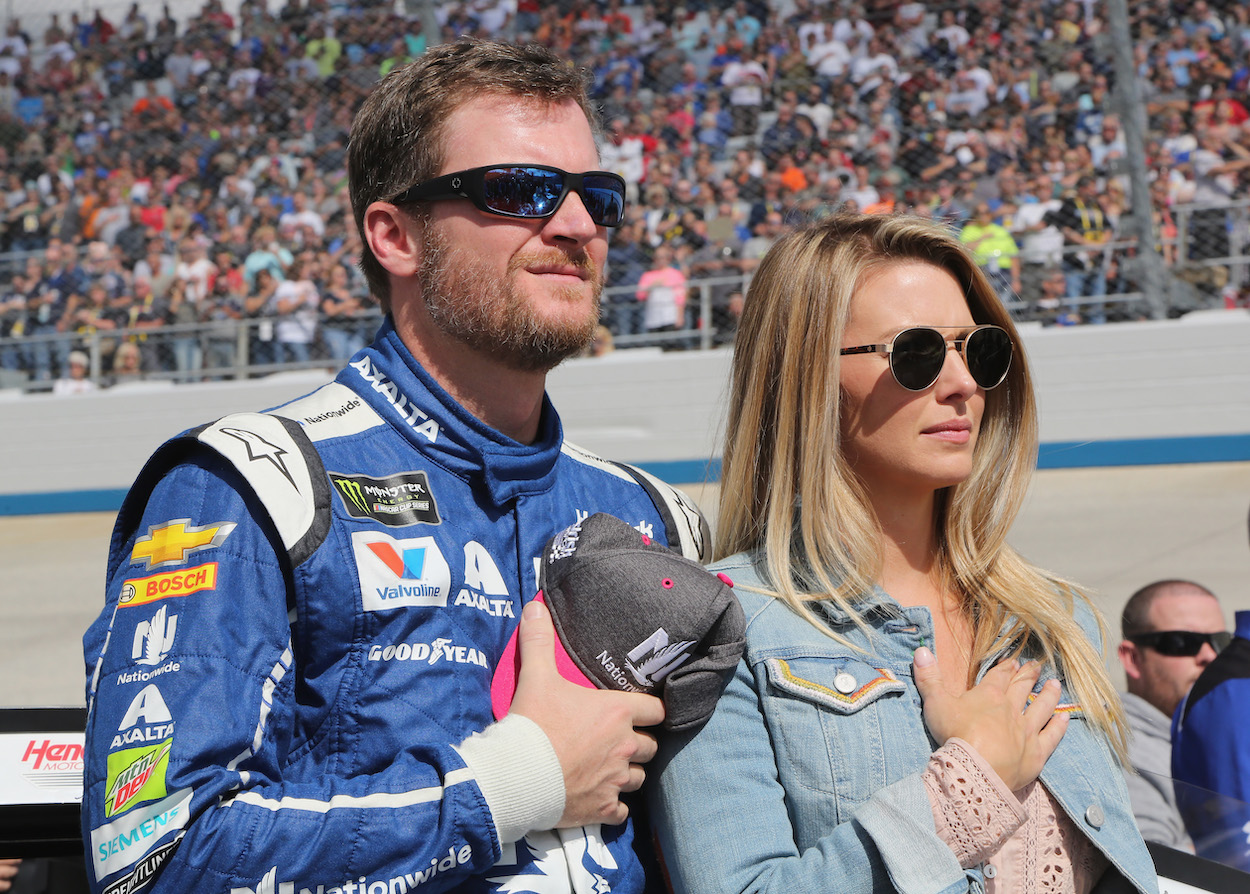 Dale Earnhardt Jr. and wife Amy