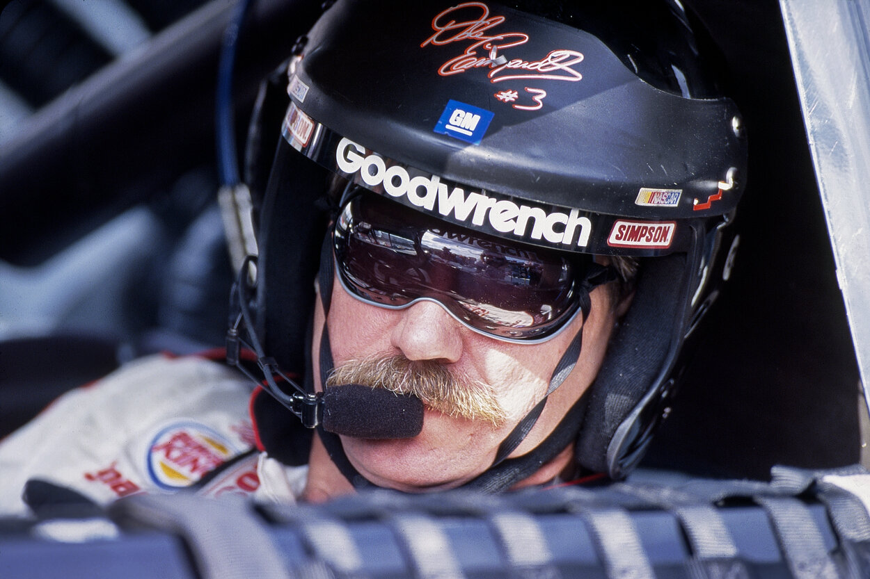 NASCAR legend Dale Earnhardt Sr. in 2000.