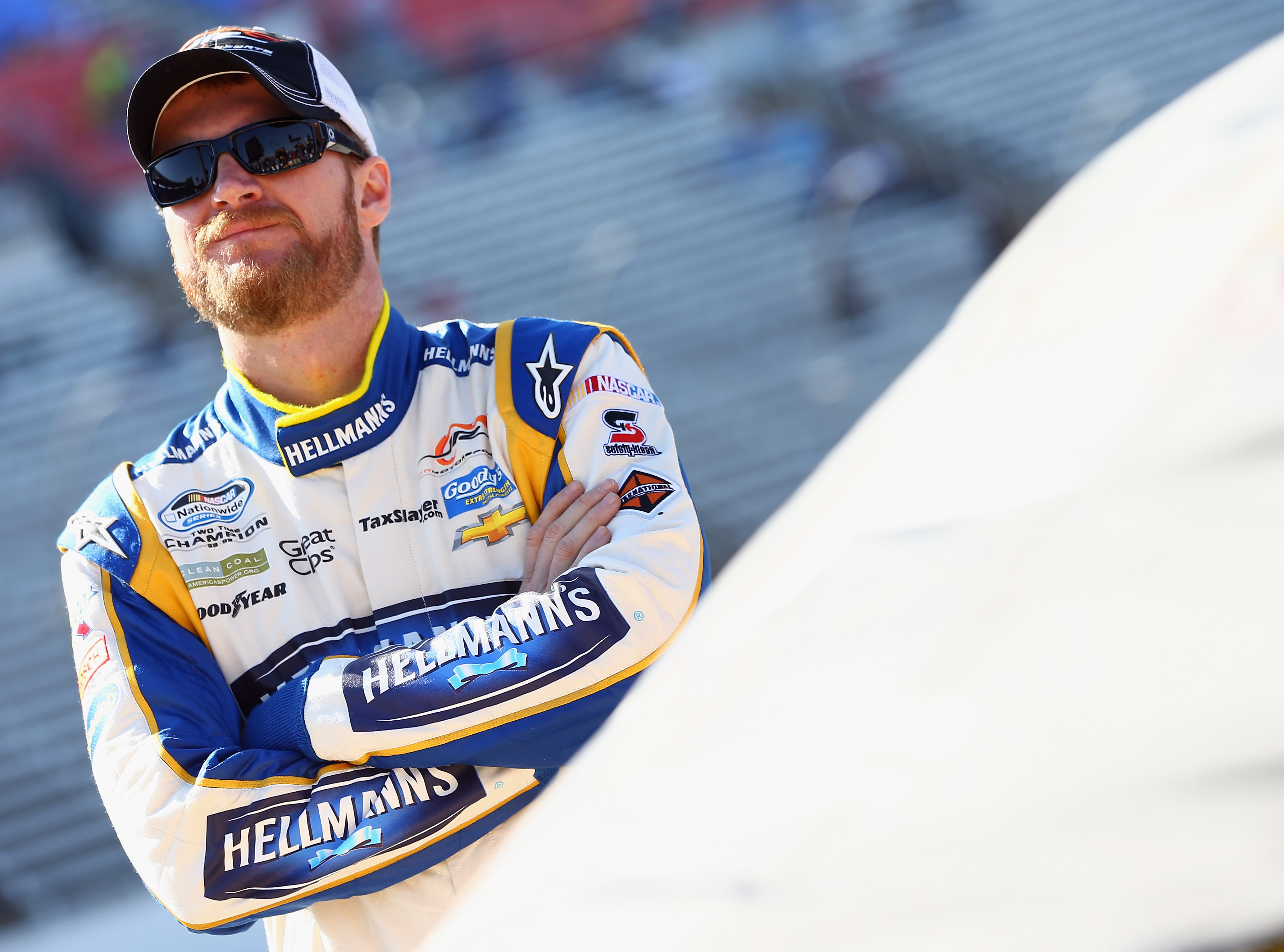Dale Earnhardt Jr. is still frustrated by his father's absence during a big event.