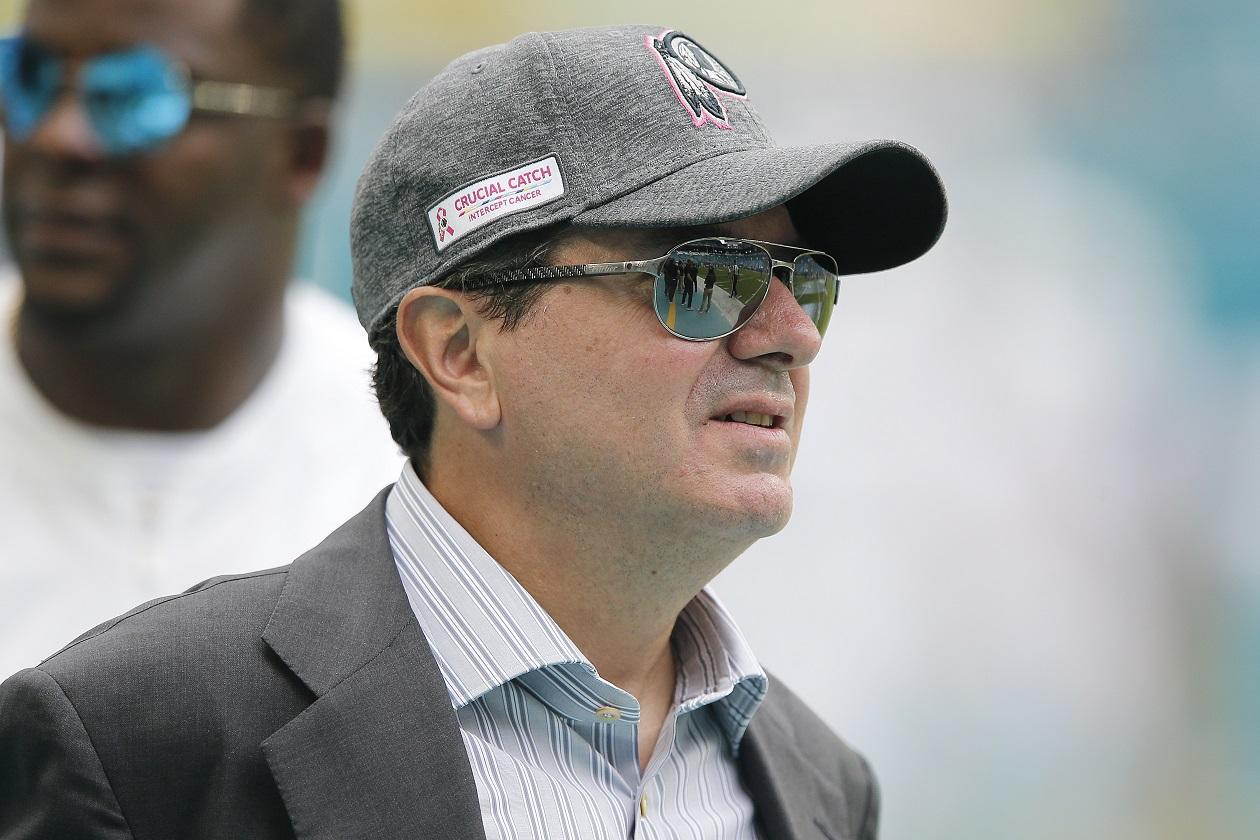 Washington Football Team owner Daniel Snyder