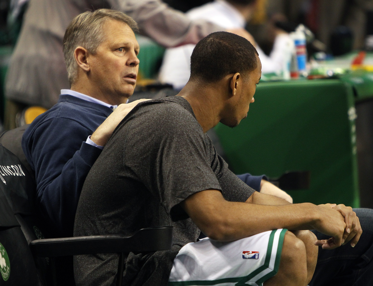 Danny Ainge wasn't overly active again at the trade deadline.
