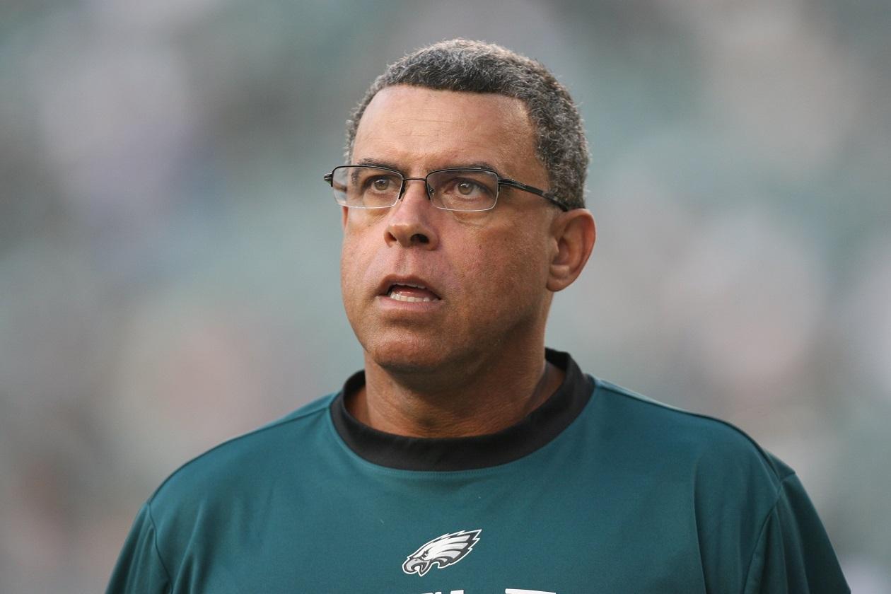 David Culley, Eagles WR coach