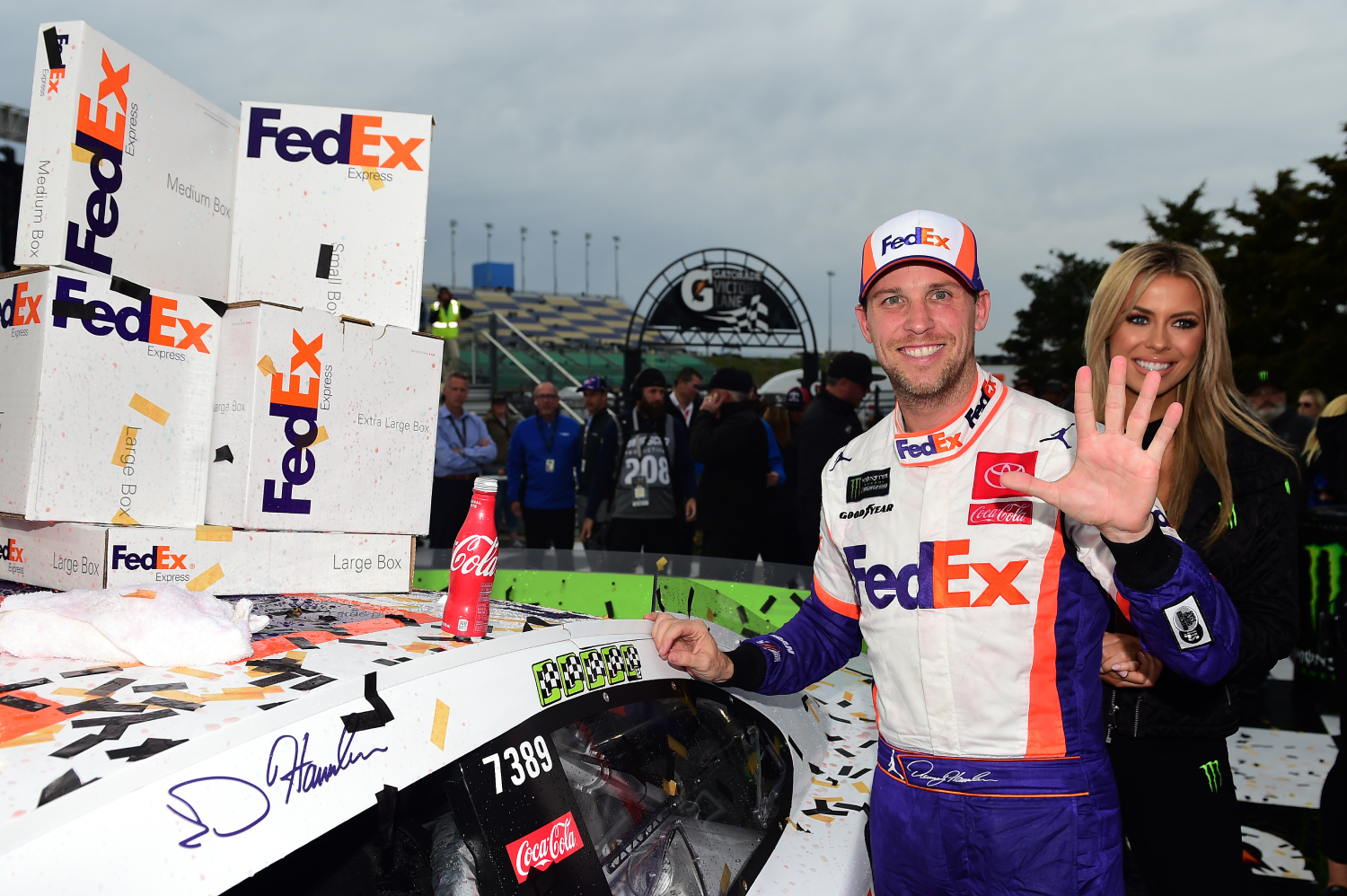 Denny Hamlin has two theories why he's an unpopular NASCAR driver.