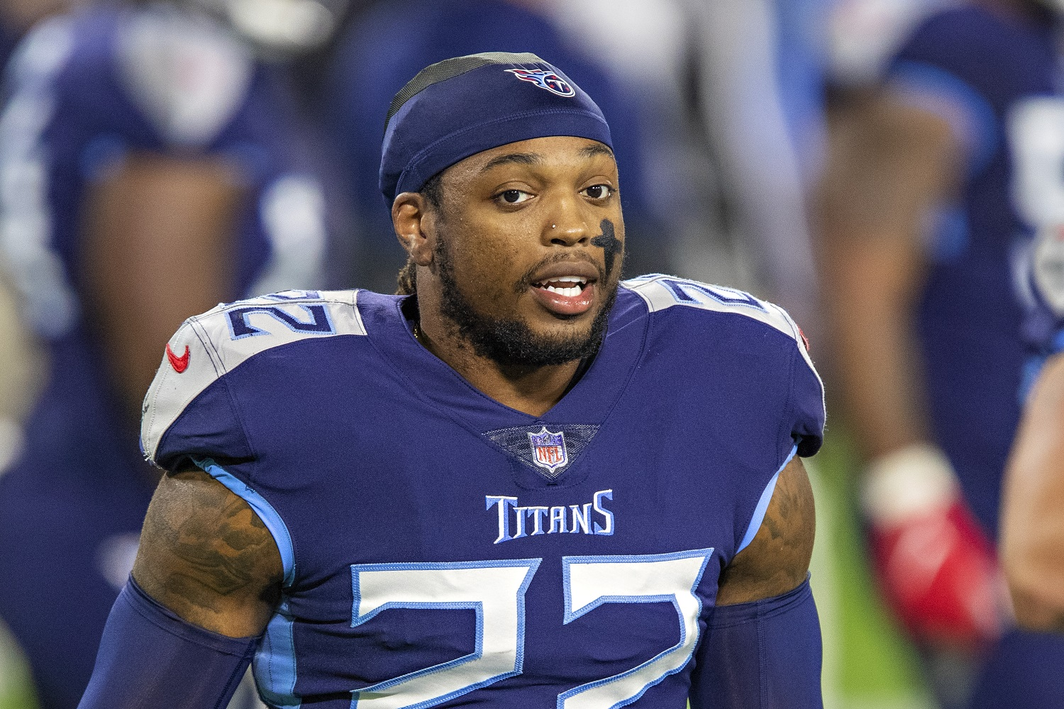 Derrick Henry of the Tennessee Titans has led NFL running backs in yardage and touchdowns the past two seasons.