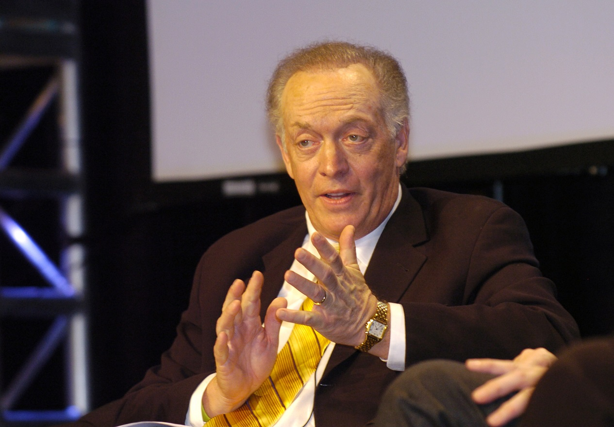 Veteran sports commentator Dick Stockton pictured in 2006