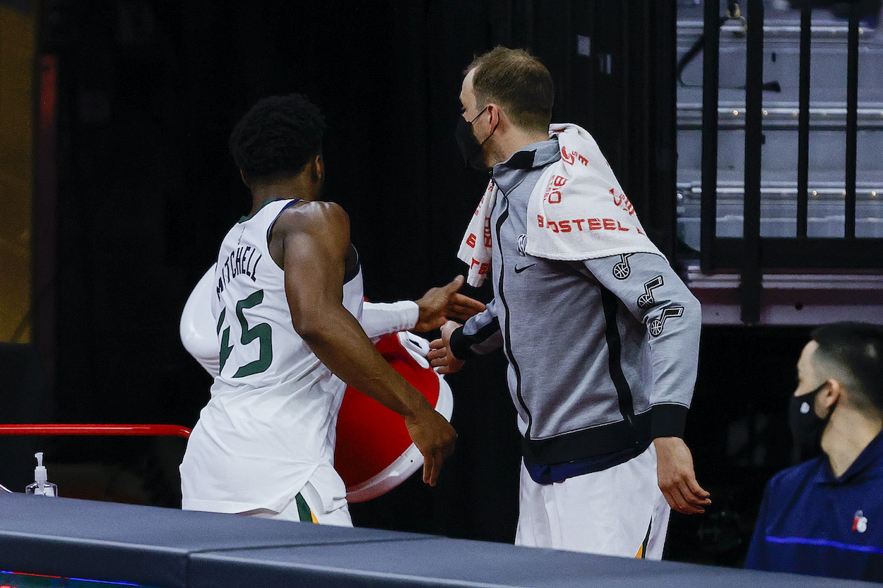Donovan Mitchell Throws Epic Temper Tantrum, Blames Refs After Getting Ejected and Losing to 1 of His Biggest Rivals