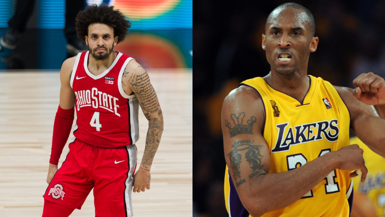 Ohio State Guard Duane Washington Jr. Had a Deep Connection With Kobe Bryant Thanks to His 5-Time NBA Champion Uncle