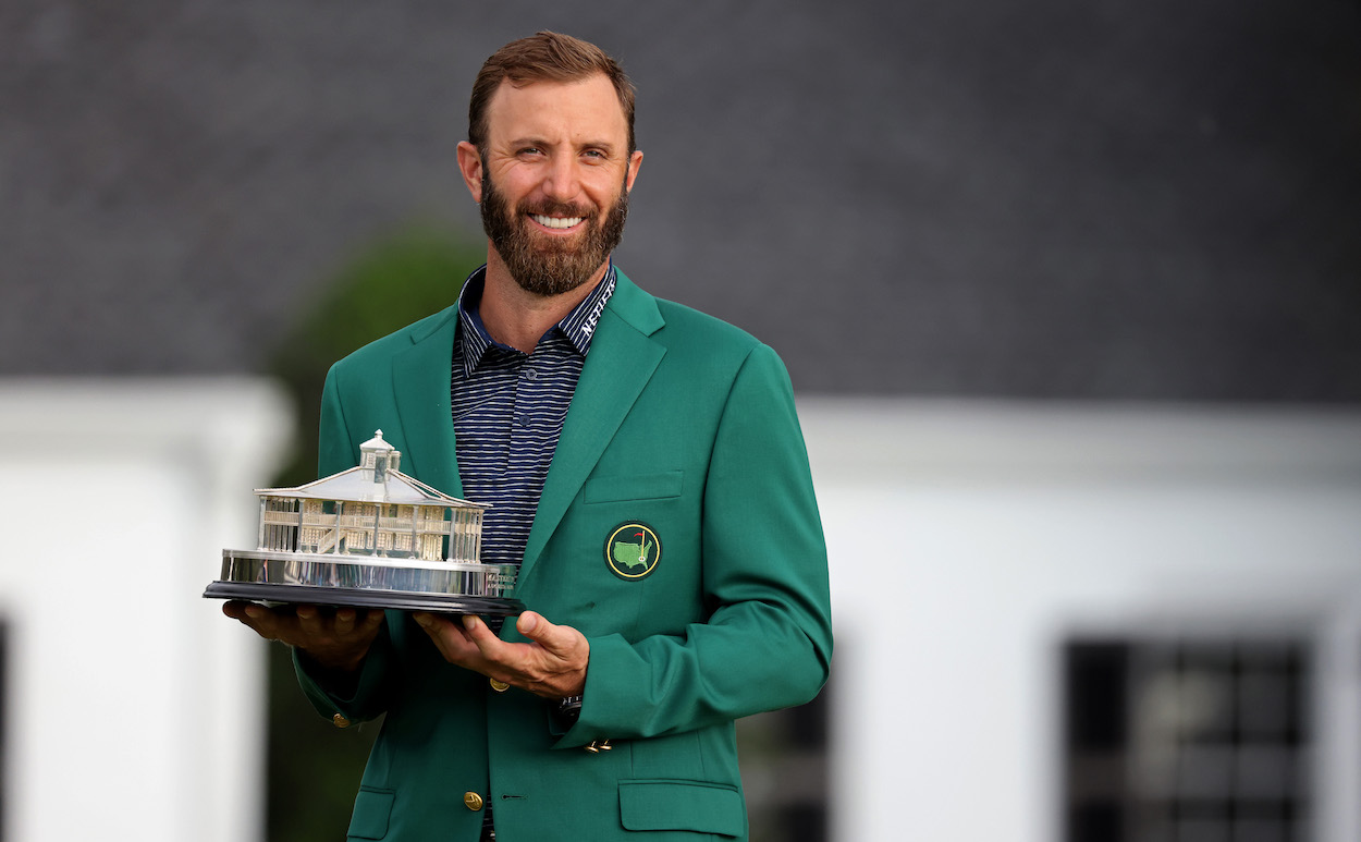 2020 Masters champion Dustin Johnson