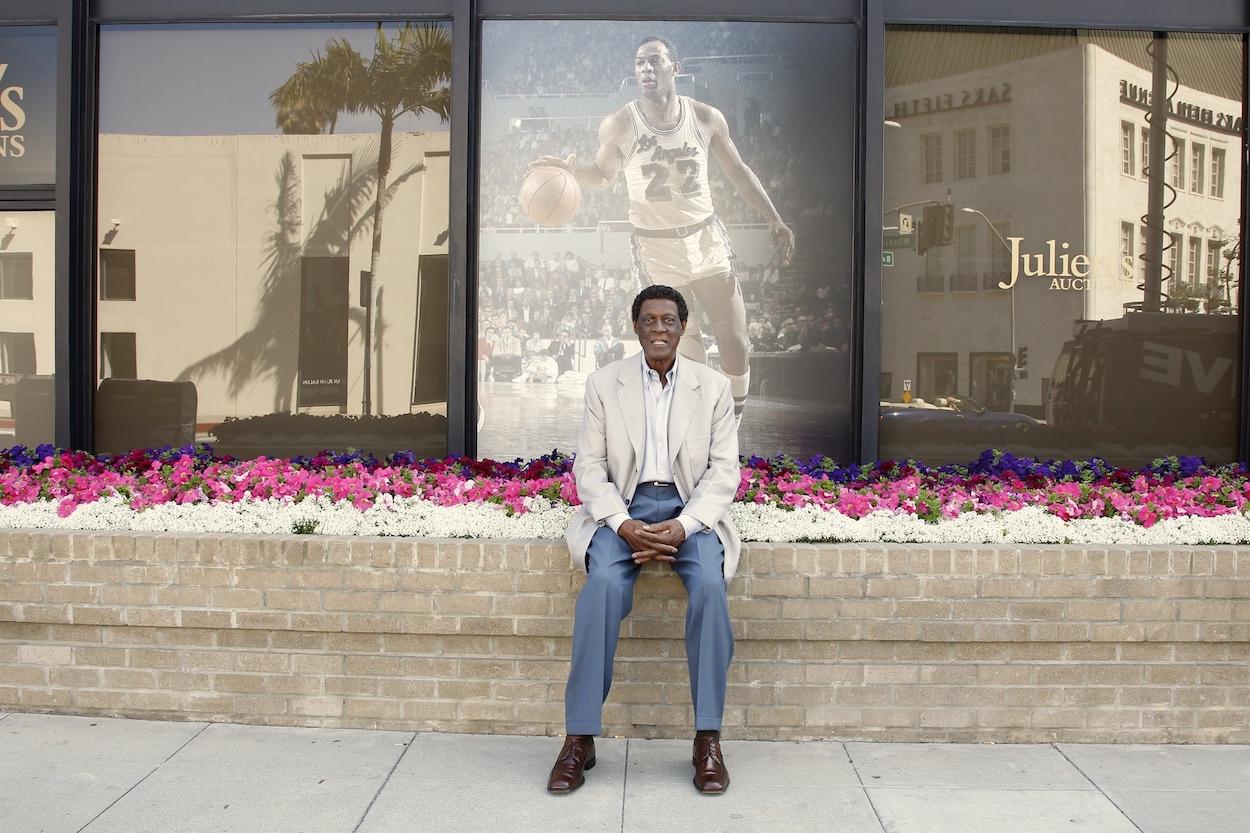 NBA legend and La Lakers great Elgin Baylor